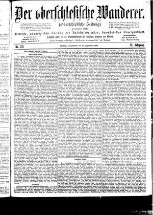 ˜Derœ Oberschlesische Wanderer vom 23.09.1899