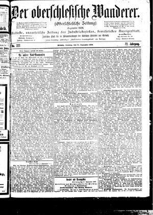 ˜Derœ Oberschlesische Wanderer vom 24.09.1899