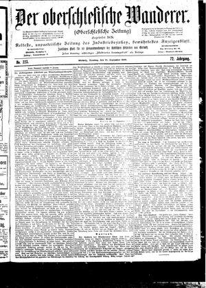 ˜Derœ Oberschlesische Wanderer vom 26.09.1899