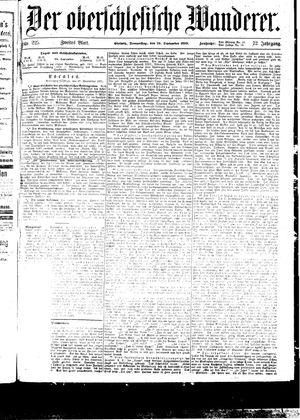 ˜Derœ Oberschlesische Wanderer vom 28.09.1899