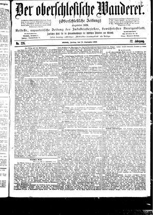 ˜Derœ Oberschlesische Wanderer vom 29.09.1899
