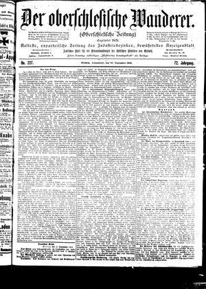 ˜Derœ Oberschlesische Wanderer vom 30.09.1899