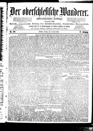 ˜Derœ Oberschlesische Wanderer vom 03.10.1899