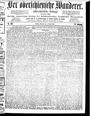 ˜Derœ Oberschlesische Wanderer vom 04.10.1899