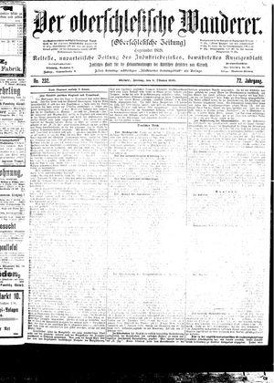 ˜Derœ Oberschlesische Wanderer vom 06.10.1899
