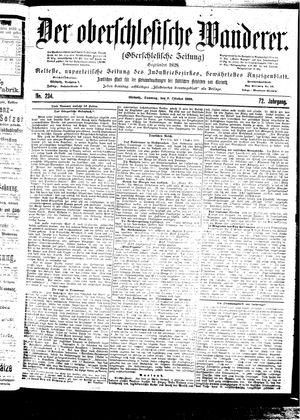 ˜Derœ Oberschlesische Wanderer vom 08.10.1899