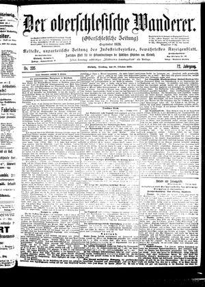 ˜Derœ Oberschlesische Wanderer vom 10.10.1899
