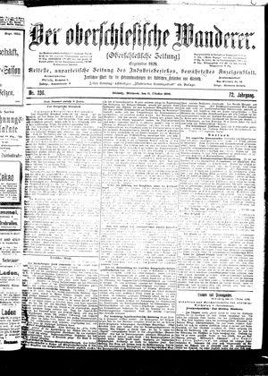 ˜Derœ Oberschlesische Wanderer vom 11.10.1899