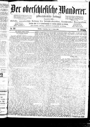 ˜Derœ Oberschlesische Wanderer vom 12.10.1899