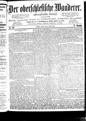 ˜Derœ Oberschlesische Wanderer vom 13.10.1899