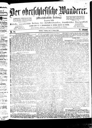 ˜Derœ Oberschlesische Wanderer vom 17.10.1899