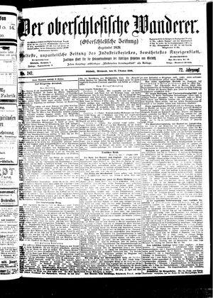 ˜Derœ Oberschlesische Wanderer vom 18.10.1899