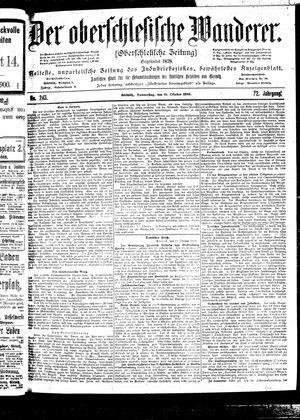 ˜Derœ Oberschlesische Wanderer vom 19.10.1899