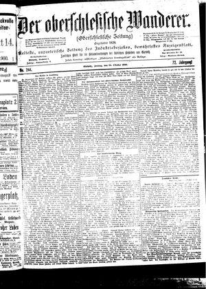 ˜Derœ Oberschlesische Wanderer vom 20.10.1899
