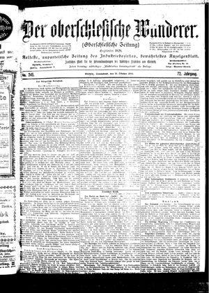 ˜Derœ Oberschlesische Wanderer vom 21.10.1899