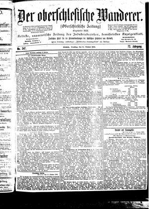 ˜Derœ Oberschlesische Wanderer vom 24.10.1899