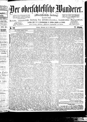 ˜Derœ Oberschlesische Wanderer vom 25.10.1899