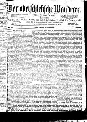 ˜Derœ Oberschlesische Wanderer vom 26.10.1899