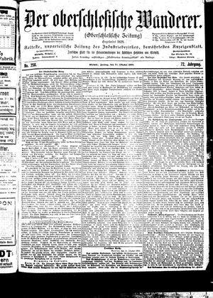 ˜Derœ Oberschlesische Wanderer vom 27.10.1899