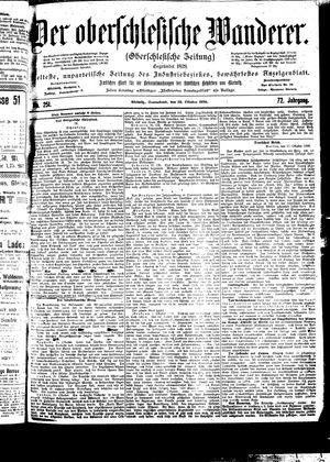 ˜Derœ Oberschlesische Wanderer vom 28.10.1899
