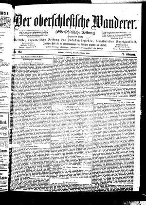 ˜Derœ Oberschlesische Wanderer vom 29.10.1899