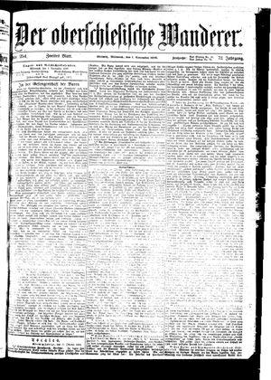 ˜Derœ Oberschlesische Wanderer vom 01.11.1899