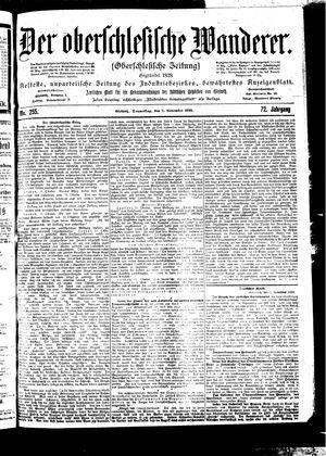 ˜Derœ Oberschlesische Wanderer vom 02.11.1899