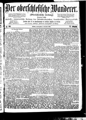 ˜Derœ Oberschlesische Wanderer vom 03.11.1899