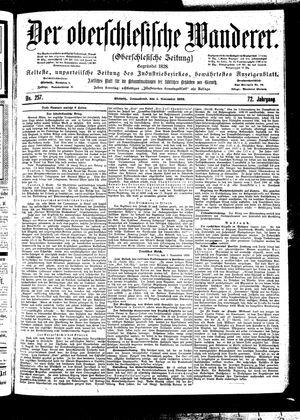 ˜Derœ Oberschlesische Wanderer vom 04.11.1899