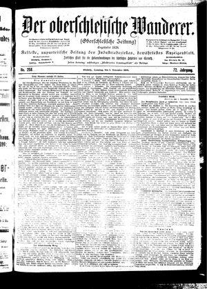 ˜Derœ Oberschlesische Wanderer vom 05.11.1899