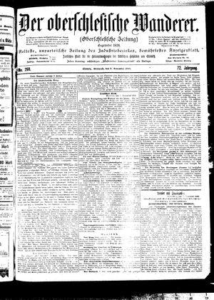 ˜Derœ Oberschlesische Wanderer vom 08.11.1899