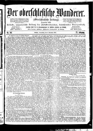 ˜Derœ Oberschlesische Wanderer vom 09.11.1899