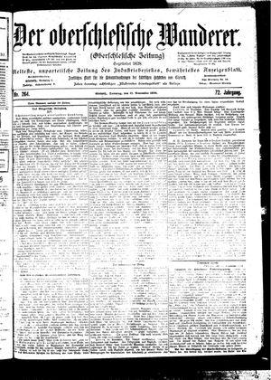 ˜Derœ Oberschlesische Wanderer vom 12.11.1899