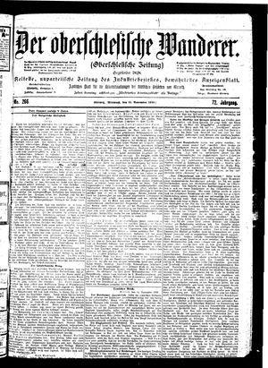 ˜Derœ Oberschlesische Wanderer vom 15.11.1899