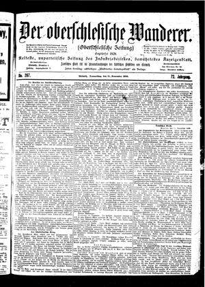 ˜Derœ Oberschlesische Wanderer vom 16.11.1899