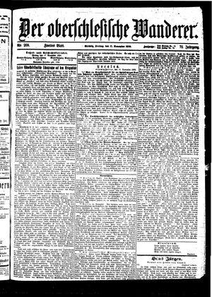 ˜Derœ Oberschlesische Wanderer vom 17.11.1899