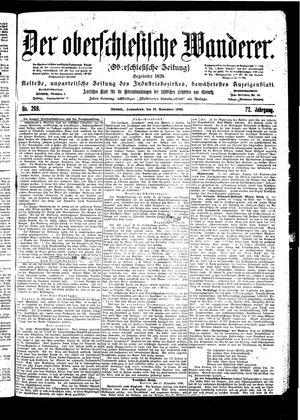 ˜Derœ Oberschlesische Wanderer vom 18.11.1899