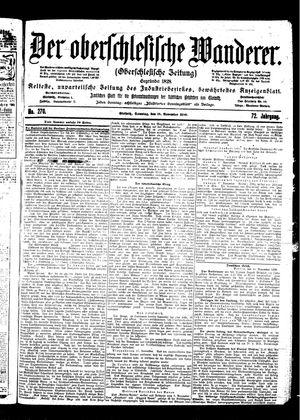 ˜Derœ Oberschlesische Wanderer vom 19.11.1899