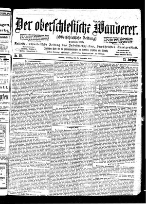 ˜Derœ Oberschlesische Wanderer vom 21.11.1899