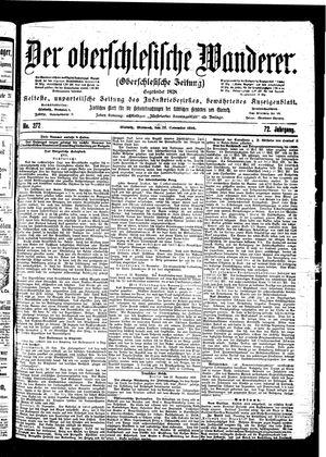 ˜Derœ Oberschlesische Wanderer vom 22.11.1899