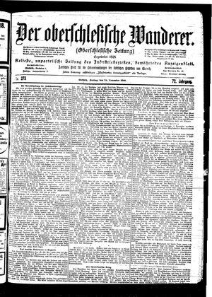 ˜Derœ Oberschlesische Wanderer vom 24.11.1899