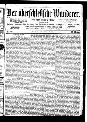 ˜Derœ Oberschlesische Wanderer vom 25.11.1899