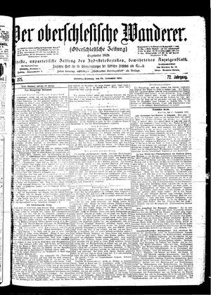 ˜Derœ Oberschlesische Wanderer vom 26.11.1899