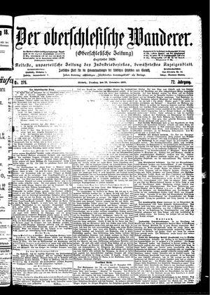˜Derœ Oberschlesische Wanderer vom 28.11.1899