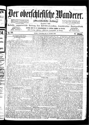 ˜Derœ Oberschlesische Wanderer vom 30.11.1899