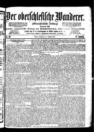 ˜Derœ Oberschlesische Wanderer vom 03.12.1899