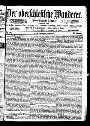 ˜Derœ Oberschlesische Wanderer vom 05.12.1899