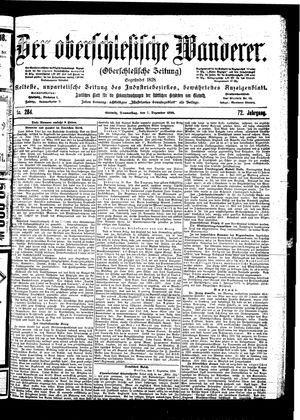 ˜Derœ Oberschlesische Wanderer vom 07.12.1899