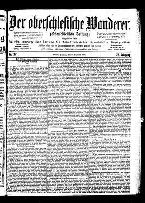 ˜Derœ Oberschlesische Wanderer vom 10.12.1899