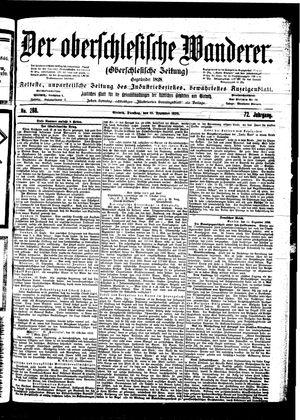 ˜Derœ Oberschlesische Wanderer vom 12.12.1899